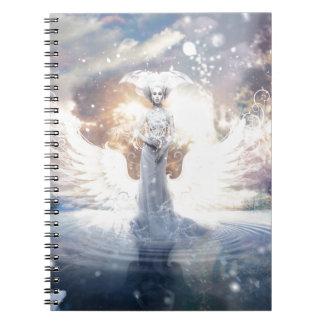 Cold Night Spiral Notebook