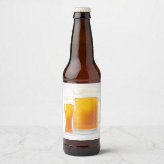 Cold One Beer Bottle Label