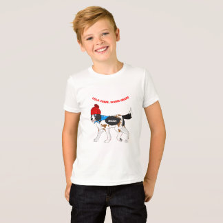 Cold Paws, Warm Heart T-Shirt