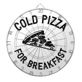Cold Pizza for Breakfast Dartboard