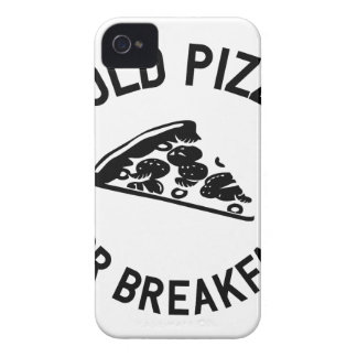 Cold Pizza for Breakfast iPhone 4 Cases