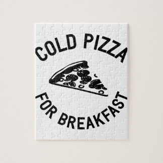 Cold Pizza for Breakfast Jigsaw Puzzle