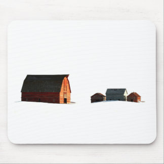 Cold Snows of a Prairie Winter Mouse Pad