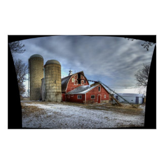 Cold Spring Barn, Uncropped Poster