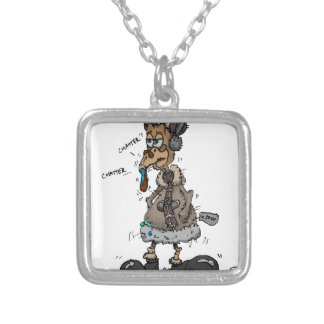 Cold Turkey Silver Plated Necklace