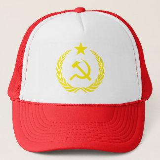 Cold War Communist Flag Trucker Hat