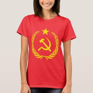 Cold War Communist Flag Women's Basic T-Shirt