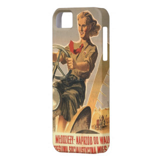 Cold war era Polish Propaganda iPhone 5 Covers