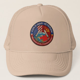 Cold War Veteran Trucker Hat