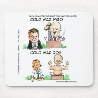 Cold Wars of 1960 And 2014 Funny Mouse Pad