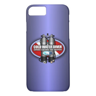 Cold Water Diver iPhone 7 cases