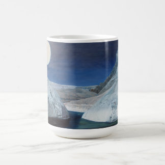 Cold water passage coffee mug