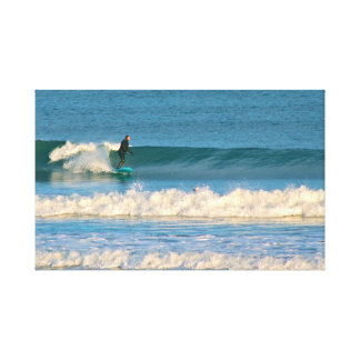 Cold Water Surf Canvas Print