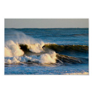 Cold Water Surf Session Poster