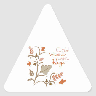 Cold Weather Warm Hugs Stickers