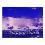 Cold Winter Mist at Niagara Falls Postcard