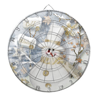 Cold Winter Snowman Dart Boards