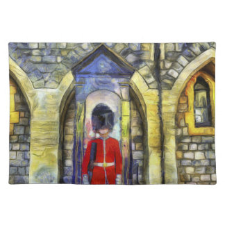 Coldstream Guard Art Placemat