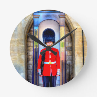 Coldstream Guard Round Clock