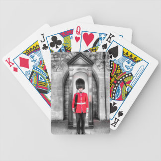 Coldstream Guard Sentry Bicycle Playing Cards
