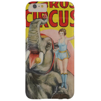 Cole Brothers Circus's Teddy the Elephant Barely There iPhone 6 Plus Case