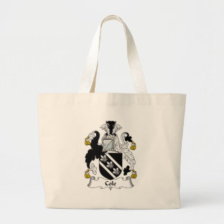 Cole Family Crest Jumbo Tote Bag