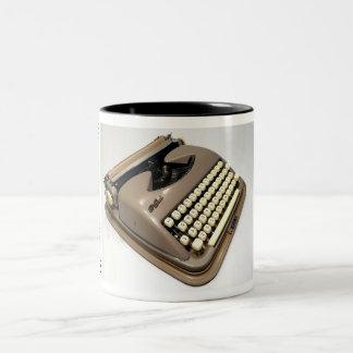 Cole Steel typewriter Two-Tone Coffee Mug