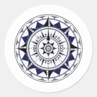 Colecção Rosa dos Ventos Round Sticker