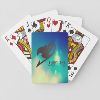 colection shuffles fairy tail poker deck