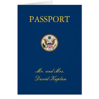 Coles Custom Tanzania Theme Passport Card