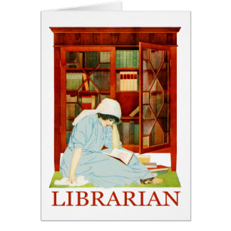 Coles Phillips Librarian Card