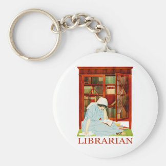 Coles Phillips Librarian Keychain