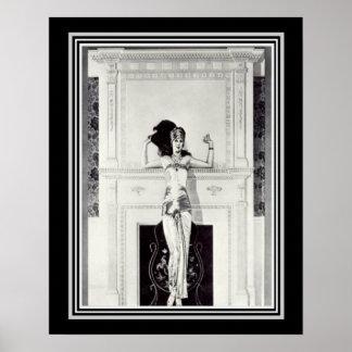 Coles Phillips Vintage Art Deco Ad Poster 16 x 20