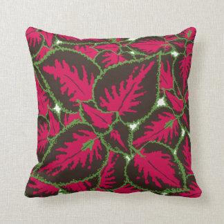 Coleus Plant Decor#1 Modern Throw, Lumbar Pillows