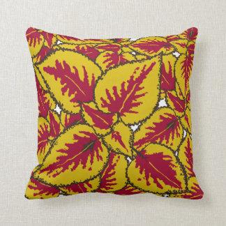 Coleus Plant Decor#2 Modern Throw, Lumbar Pillows