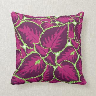 Coleus Plant Decor#3 Modern Throw, Lumbar Pillows