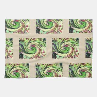 COLEUS SWIRL KITCHEN TOWEL