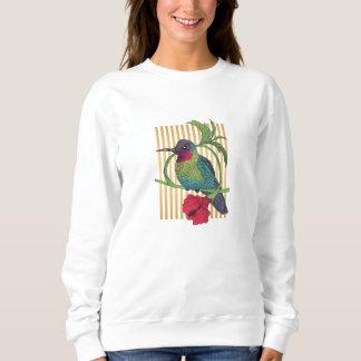 Colibri Bird Gold Stripes Basic Sweatshirt