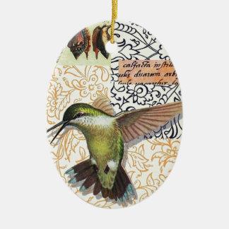 Colibri Ceramic Ornament
