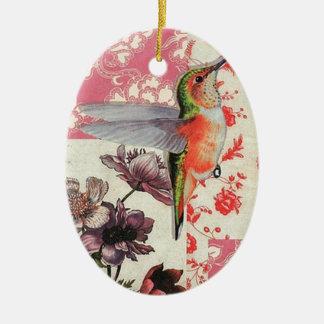 Colibri - Christmas Adornment Oval De Cerámica Ceramic Oval Ornament