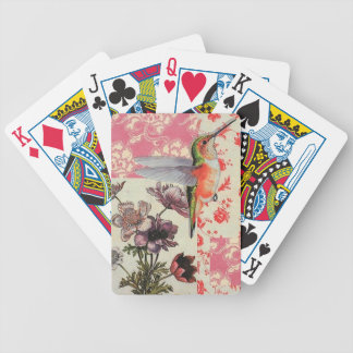 Colibrí - Letters of poker Bicycle Playing Cards