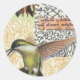 Colibri - Round Sticker
