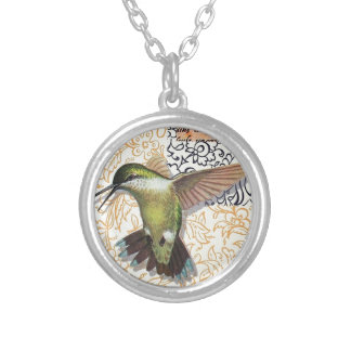 Colibri Silver Plated Necklace