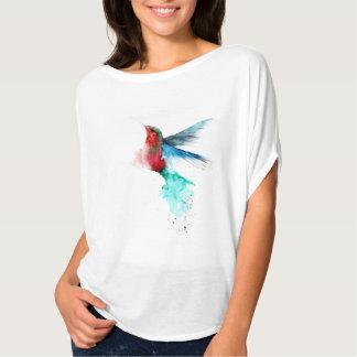colibrí t-shirt watercolor carmen Navarrese