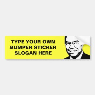 Colin Powell Bumper Sticker