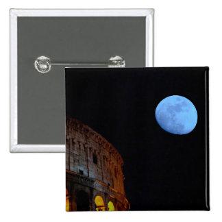 Colisé de Rome dans le clair de lune Badges