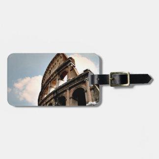 Colisé romain étiquette pour bagages