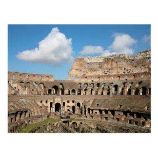 Colisé romain 2 cartes postales