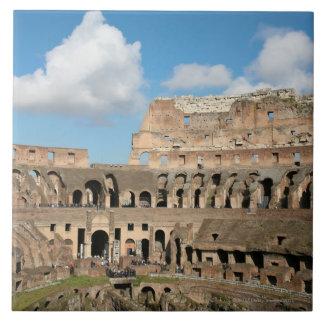 Colisé romain 2 grand carreau carré