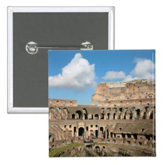 Colisé romain 2 macaron carré 5 cm